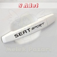 Seat Sport Kapı Kolu Jant Sticker. Araba Sticker